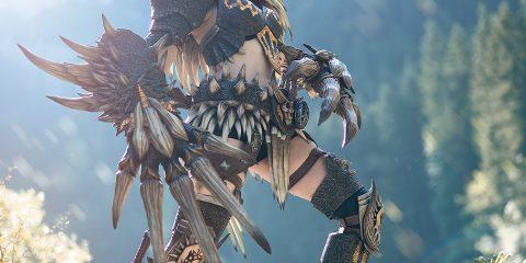 Улучшенный косплей на Monster Hunter