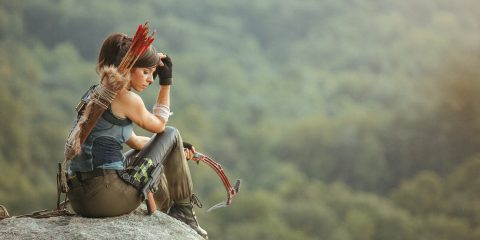 Новый косплей Расхитительницы гробниц для новый игры Tomb Raider