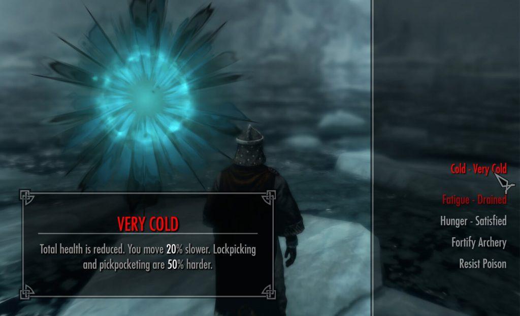 Официальному моду на выживание для Skyrim Special Edition не хватает глубины бесплатных аналогов