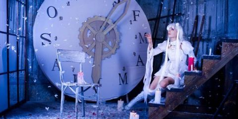 Прекрасный косплей Киракишо - живой куклы из аниме «Девы Розена»