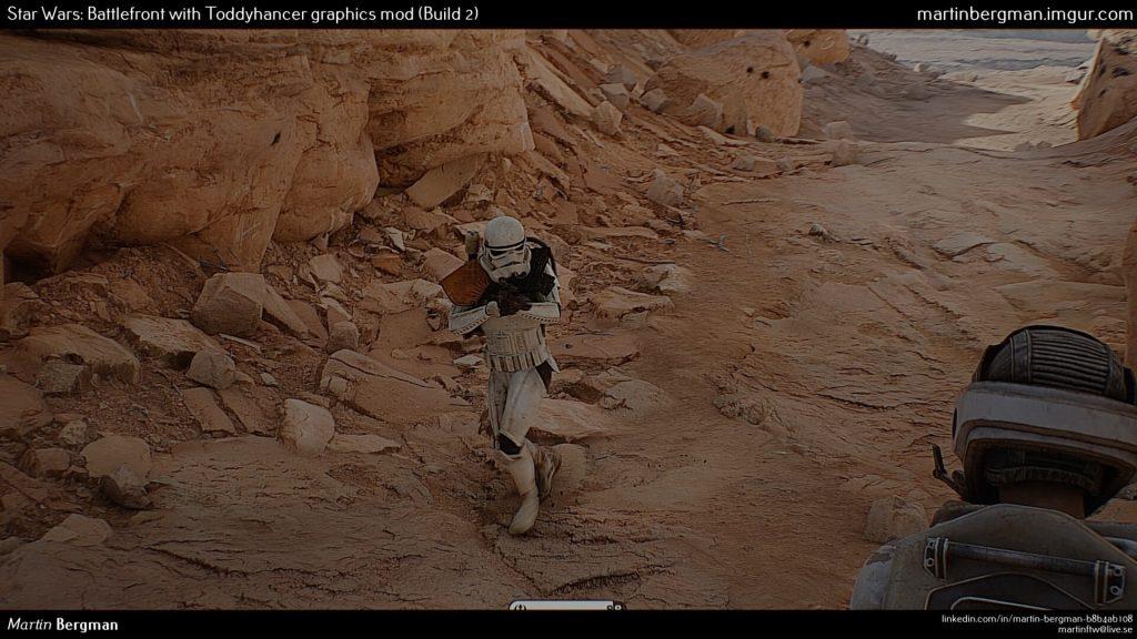Графический мод для Star Wars Battlefront делает игру похожей на фильм