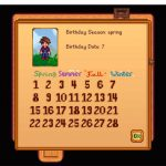 Мод Happy Birthday 2 You для Stardew Valley