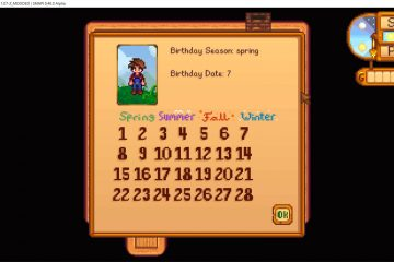 Мод «Happy Birthday 2 You» для Stardew Valley