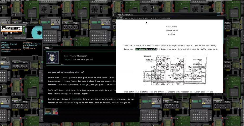 Subserial Network – это симулятор интернета 90-ых годов, в которой можно поохотиться на андроидов