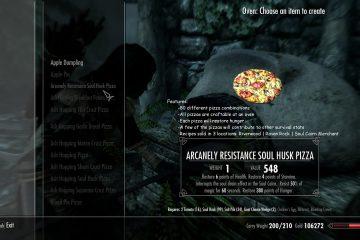 Вкусный мод для Skyrim добавляет Ривервудский магазин пиццы с 80 разными комбинациями