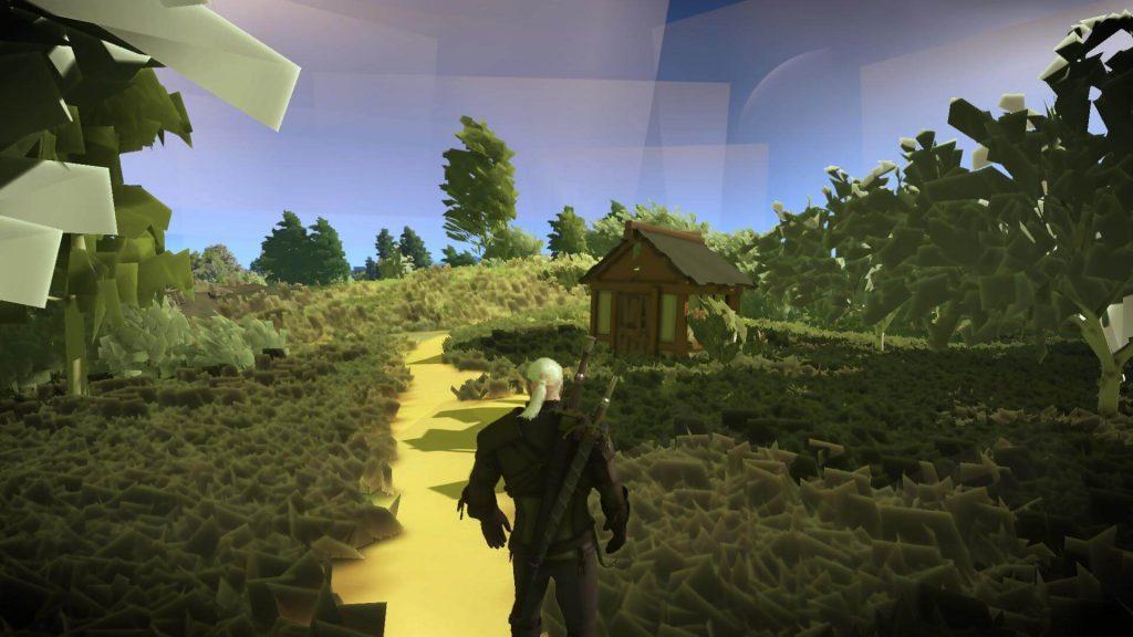 The Witcher 3 становится абстрактной благодаря этому графическому моду