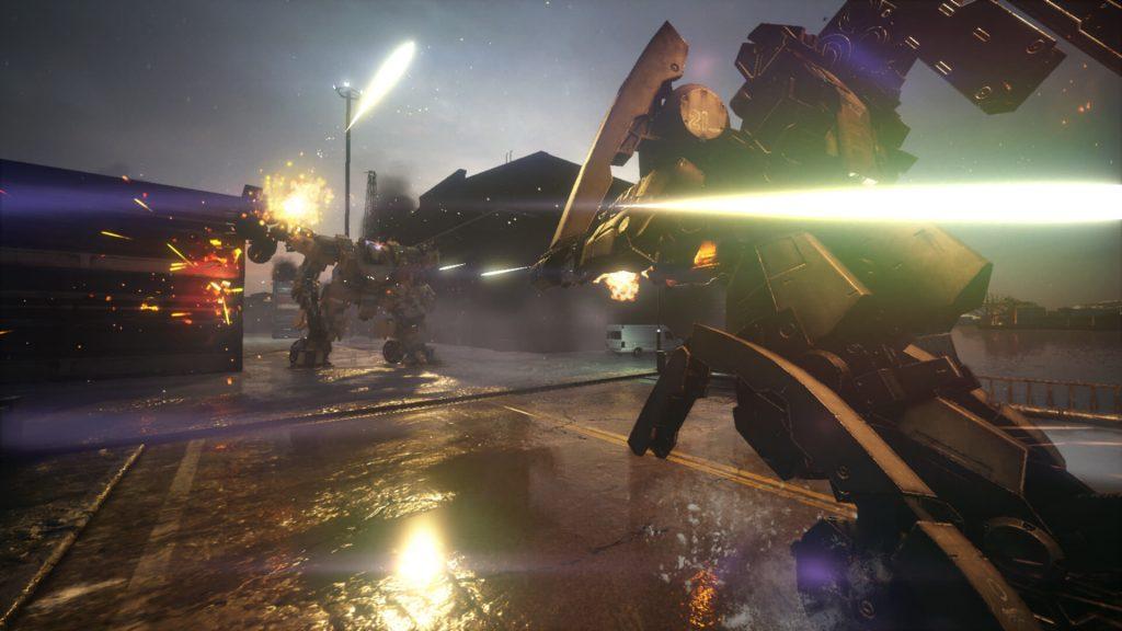 В новом трейлере игры Left Alive присутствует множество скучных людей и только два меха