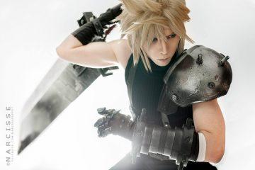 Очень хороший косплей на Final Fantasy VII