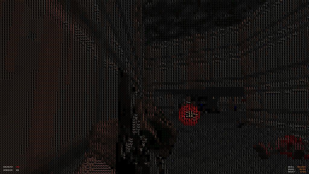 Классический DOOM заиграет новыми красками в проекте 1337d00m, выполненном в ASCII