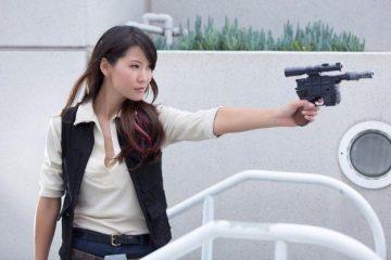 Косплей дня: женская версия Хана Соло из «Звёздных войн»