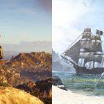 Сравнение карты Assassin's Creed Odyssey с 10 другими играми серии