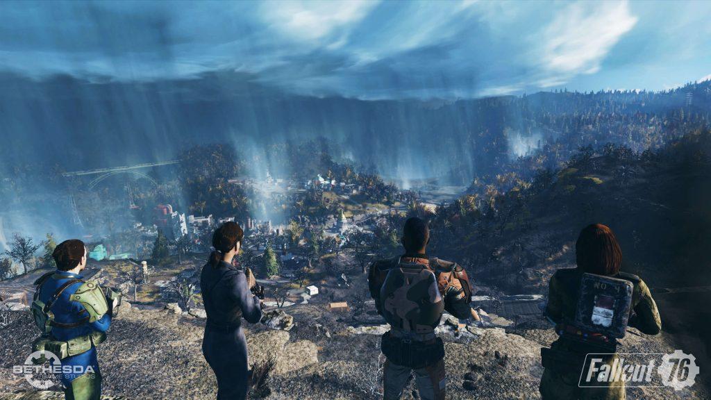 Bethesda показали полную карту Fallout 76