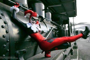 Принцесса-клоун: косплей Харли Квинн