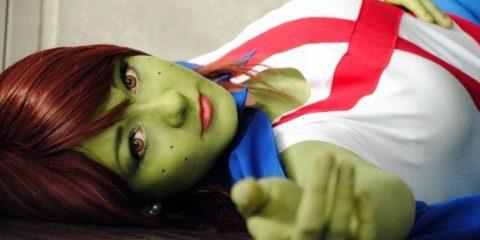 Косплей дня: мисс Марсианка из DC Comics