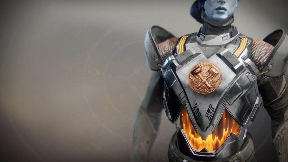 Hallowfire Heart (нагрудный доспех титана)