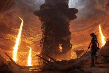 "DLC Shadow of the Tomb Raider ""The Forge"" (Плавильня) сталкивает Лару с лавой"
