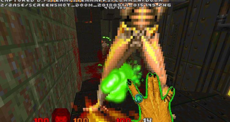 Мод DaggerHell добавляет Devil Daggers в Doom 2