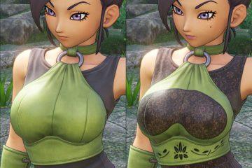 Dragon Quest XI - вышли первые nude моды для Джейд и Серены