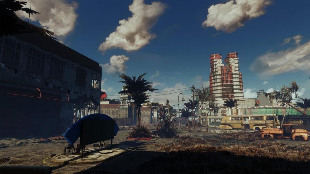 Мод Fallout: Miami привносит солнце, море и песок в пост-апокалипсис