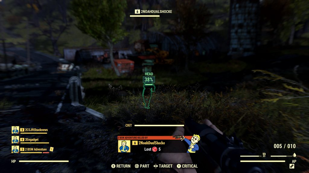 Как работает система PvP в Fallout 76