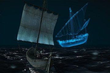 А вы знали, что в Ведьмаке 3 есть корабль-призрак?