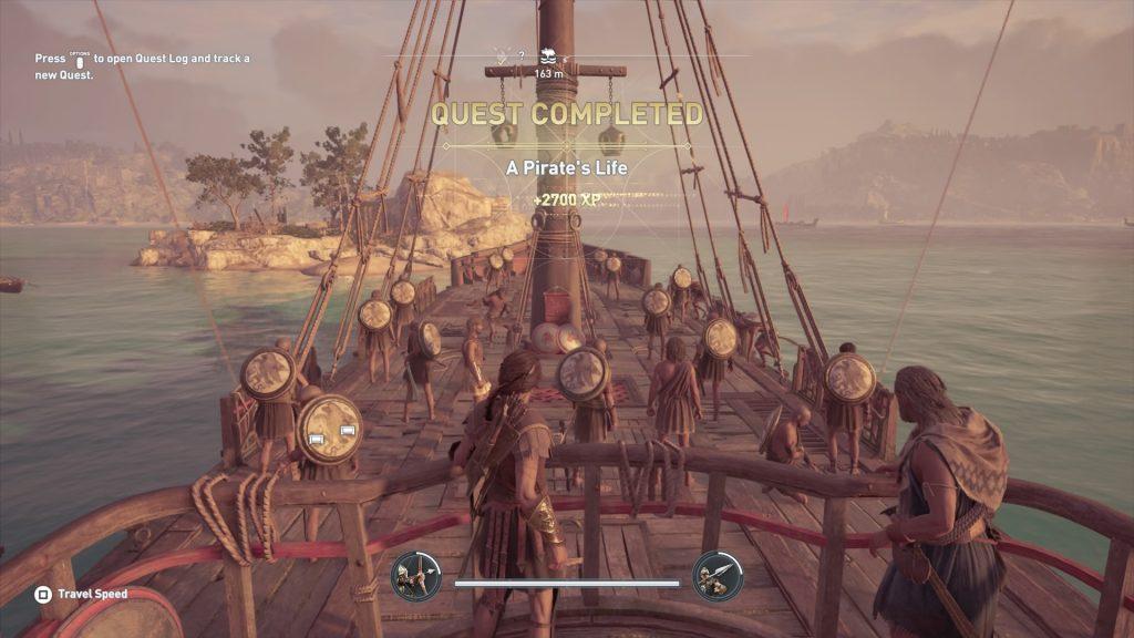 Графическое меню Assassin's Creed Odysssey: настрой под себя