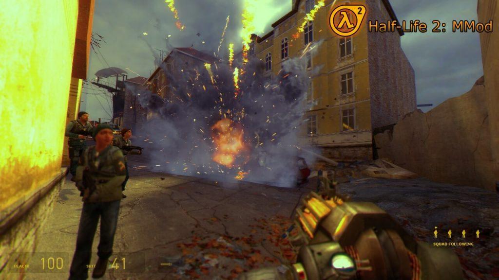 Модификация для Half-Life 2, которая добавляет новое оружие, улучшенный искусственный интеллект и механику расчлененки
