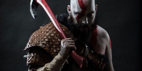 Косплей на Кратоса из Бога Войны