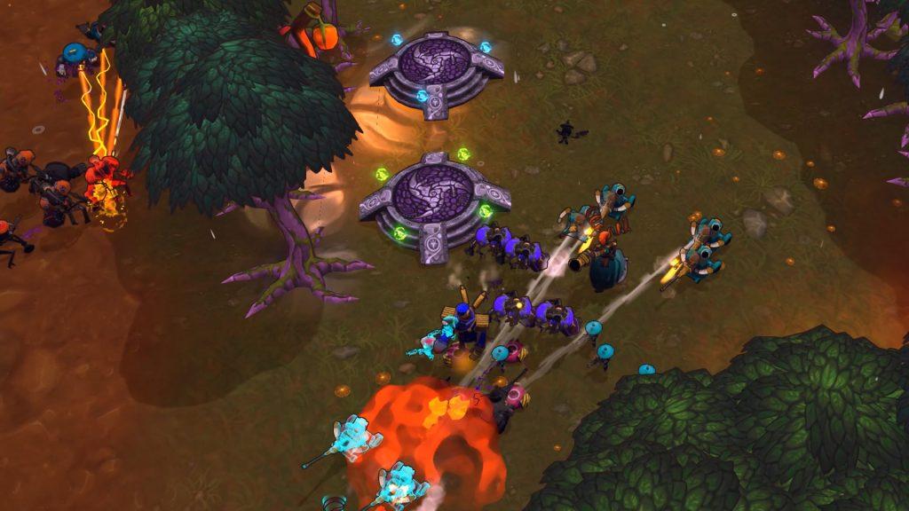 Экшен-стратегия The Maestros - игра о том, как развить и привести ваши войска к победе