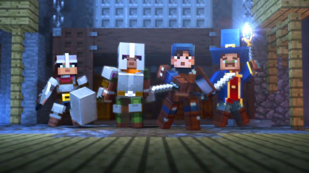 Компания Mojang разрабатывает спин-офф Minecraft в жанре dungeon-crawler
