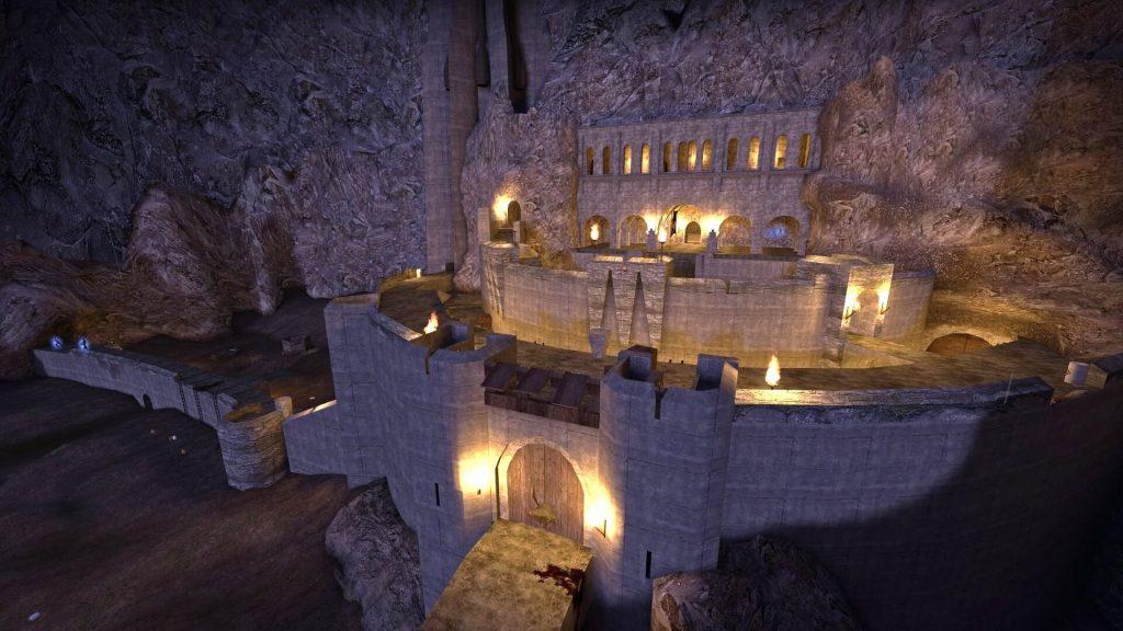 На официальные серверы Left 4 Dead 2 добавили в ротацию карту Helm's Deep Reborn