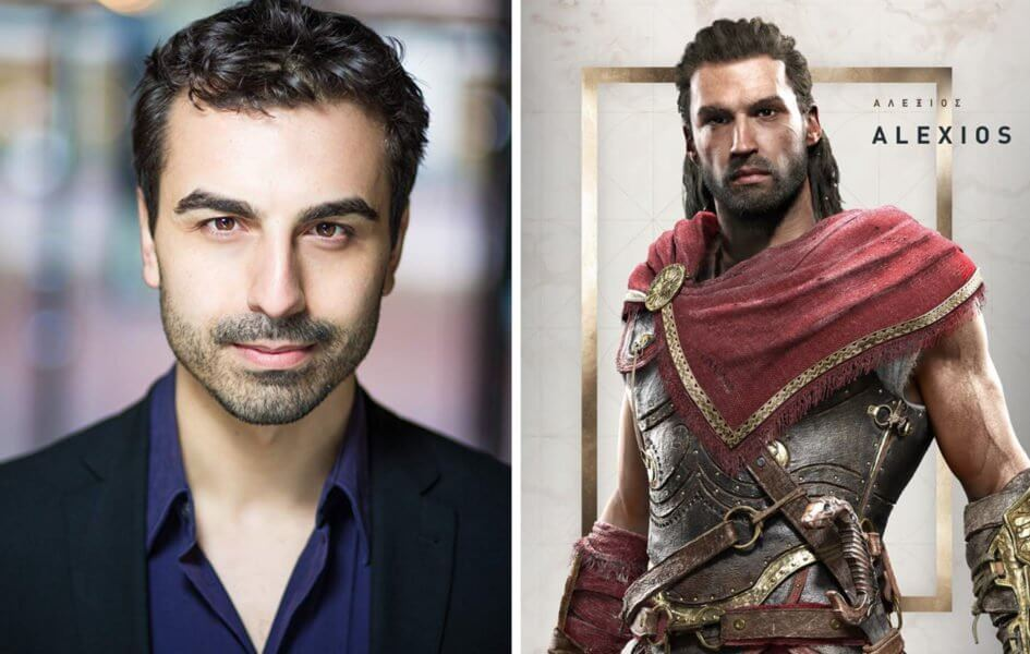 Знакомьтесь с актёрами озвучивания Assassin's Creed Odyssey