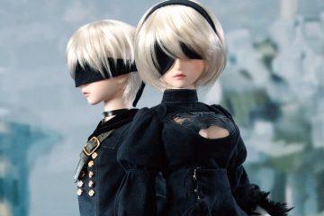 Куклы 2B и 9S от Dollfie Dream великолепны