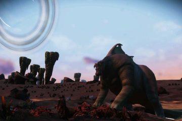 Мод Fantastic Beasts для No Man's Sky NEXT добавляет в игру действительно гигантских существ, похожих на динозавров
