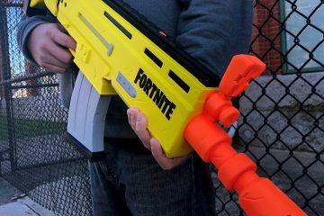 Официальный Fortnite Nerf бластер выйдет в следующем году