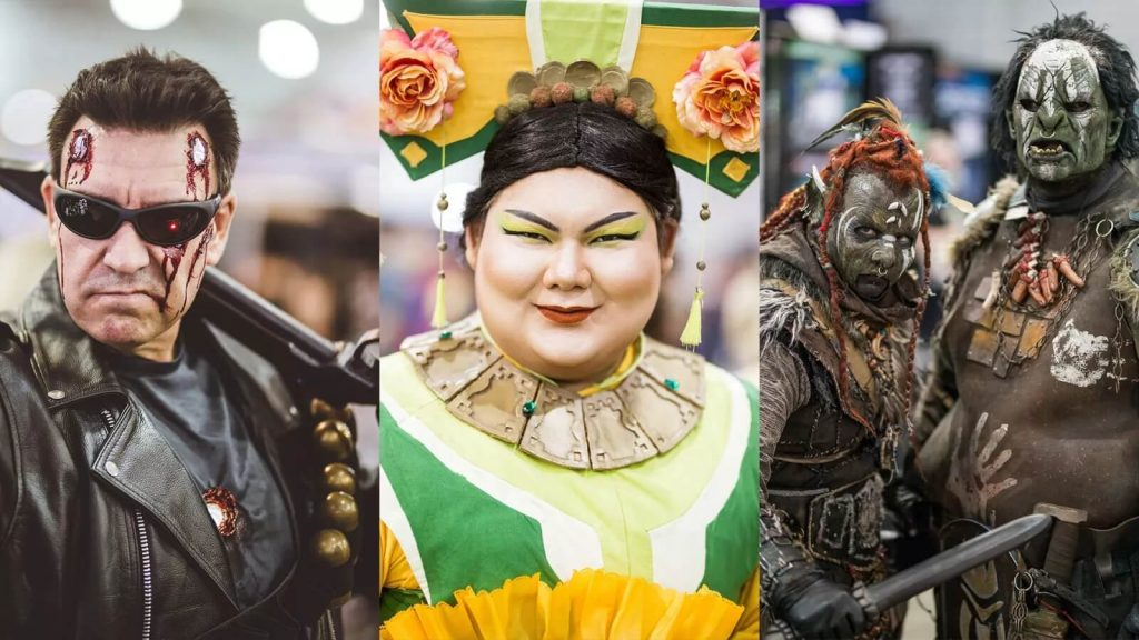 Наши любимые косплеи с Oz Comic-Con