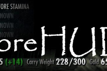 Мод moreHUD для Skyrim