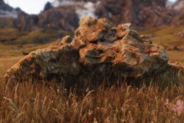 Photogrammetry rocks мод, с текстурами камней 4K и 8K, доступен для Skyrim