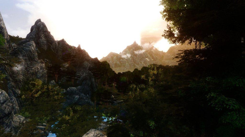 Модификация, которая добавляет тропические леса в игру Skyrim