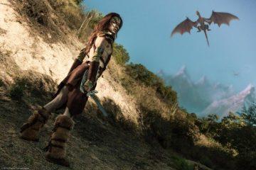 Время охотиться на драконов: изумительный косплей Эйлы Охотницы!