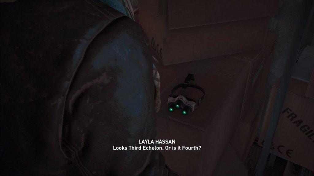Splinter Cell существует в Assassin's Creed
