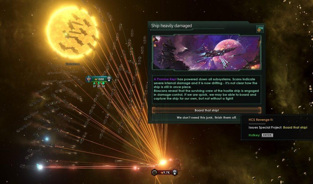 Мод «Board That Ship!» для Stellaris