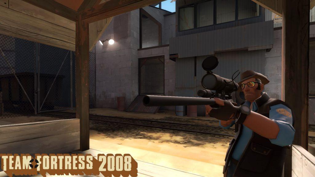 Страница в Steam мода Team Fortress 2008 была удалена