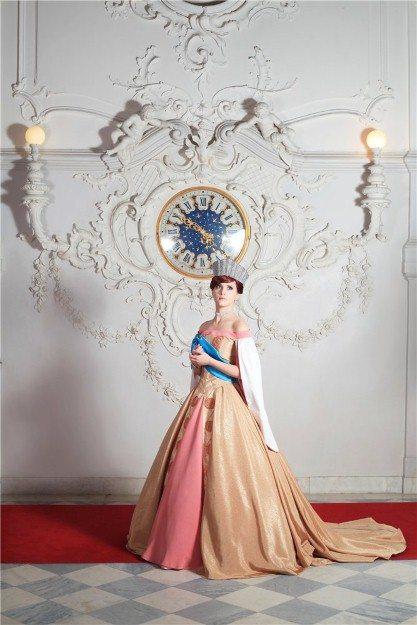 Ожившая принцесса: косплей Анастасии