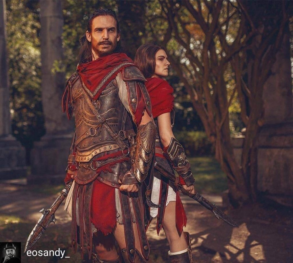 Косплей Кассандры из Assassin's Creed Odyssey выглядит просто потрясающе