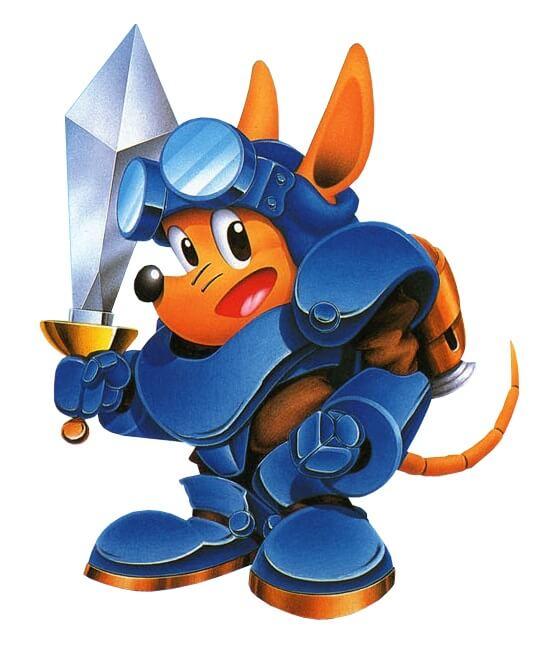 Sparkster в Rocket Knight