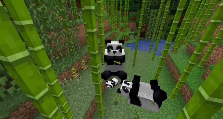 В Minecraft появятся панды, арбалеты и многое другое