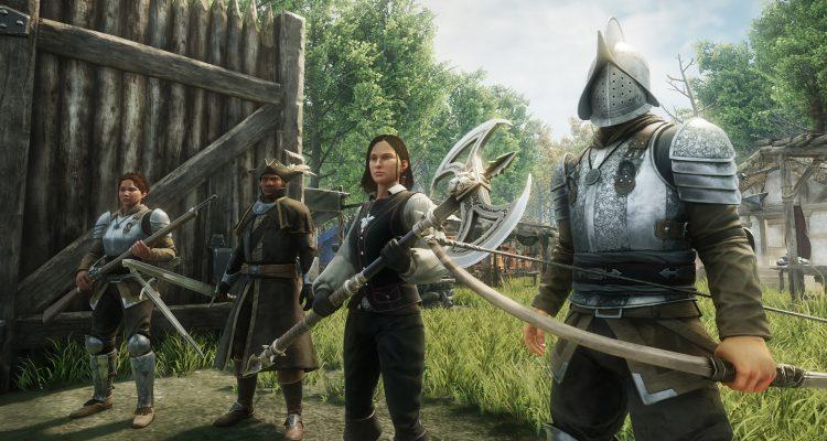 В сети появились кадры из массовой многопользовательской игры New World от Amazon