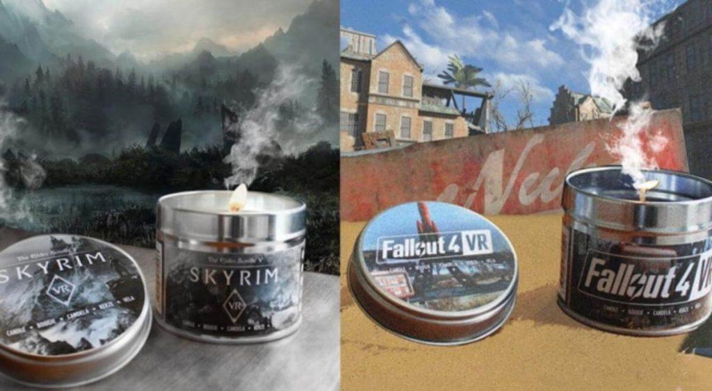 Почетное упоминание — ароматические свечи по видеоиграм