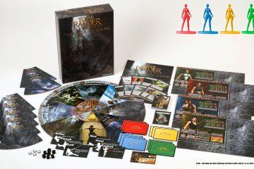 Анонсированная настольная игра по вселенной Tomb Raider